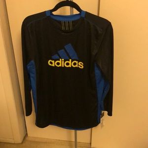NEW! Adidas athletic brand long sleeve top!